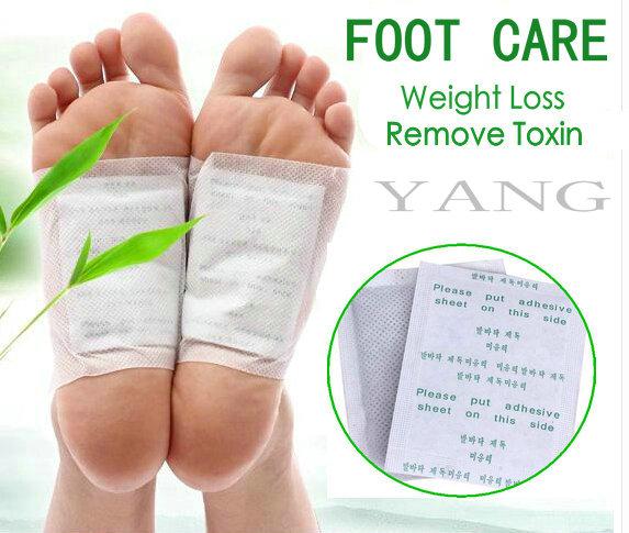 40pcs=(20pcs Patches+20pcs Adhesives) Kinoki Detox Foot Patches Pads Body Toxins Feet Slimming Cleansing HerbalAdhesive Hot