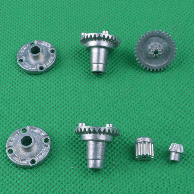 1Set HBX Mini RC4WD Motor Gear 21818 2128 2138 Metal Differential Gears Motor Pinion Gears For 1/24 RC Cars Connector Parts