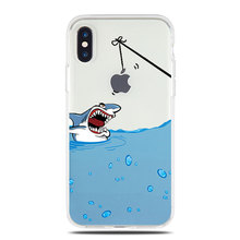 Soft Tpu Case Iphone X Max Xr 7 8 6 6s Plus Dinosaur Flamingo Cat Animal Silicone Clear Cover 5 5s Se