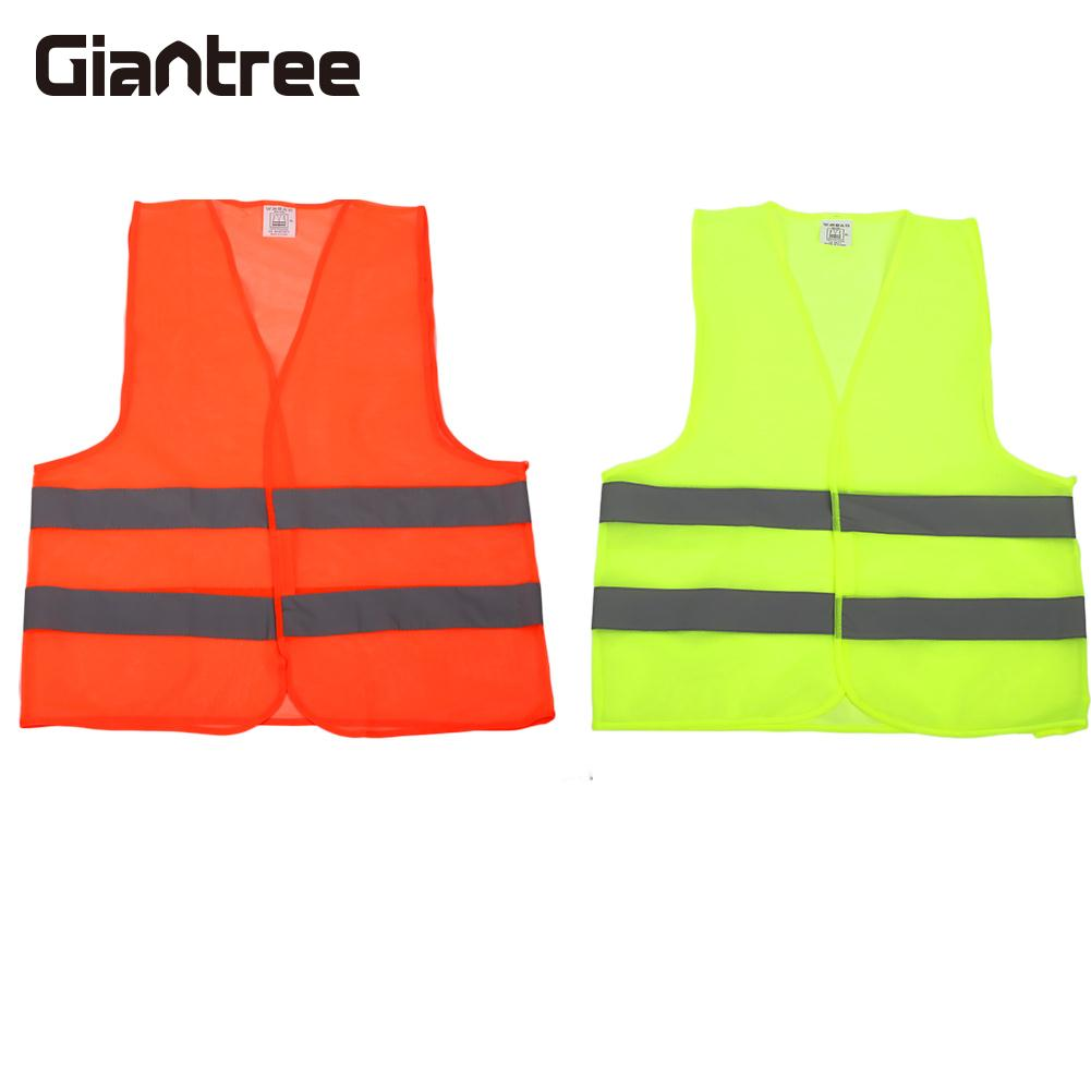 Reflective Vest Breathable Uniforms Durable Safety Vest Strips Security Adults
