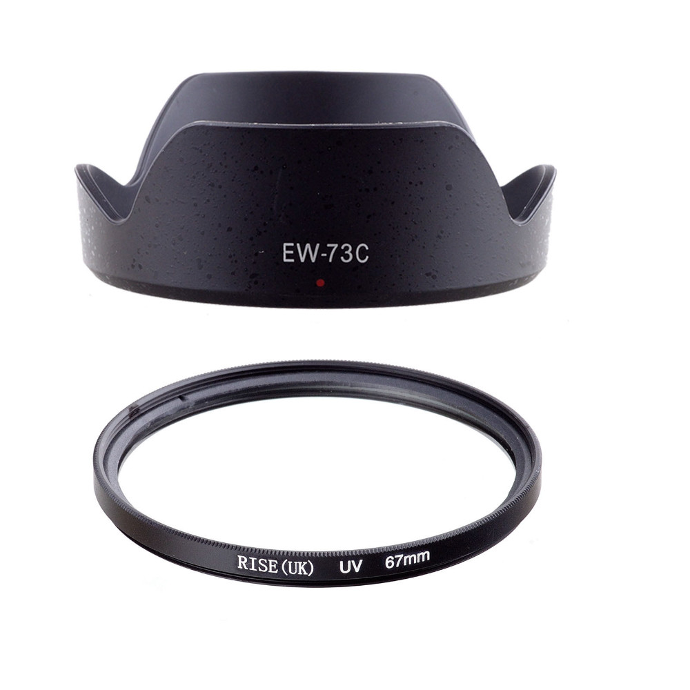67 mm Canon EF-S 10-18mm f//4.5-5.6 is STM Lens with UV Protection Lens Filter