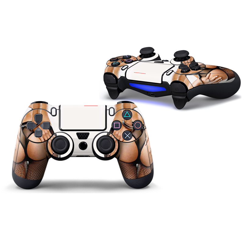 2pcs Protect Film Skin for PS4 Controllers Sticker For Sony PlayStation 4 Wireless Controller Cover for ps4 slim for ps4 pro