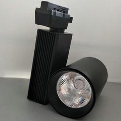 30W COB oświetlenie szynowe LED LED utwór reflektory pełny zestaw lampki ozdobne wysokiej mocy jasne światła darmowa wysyłka