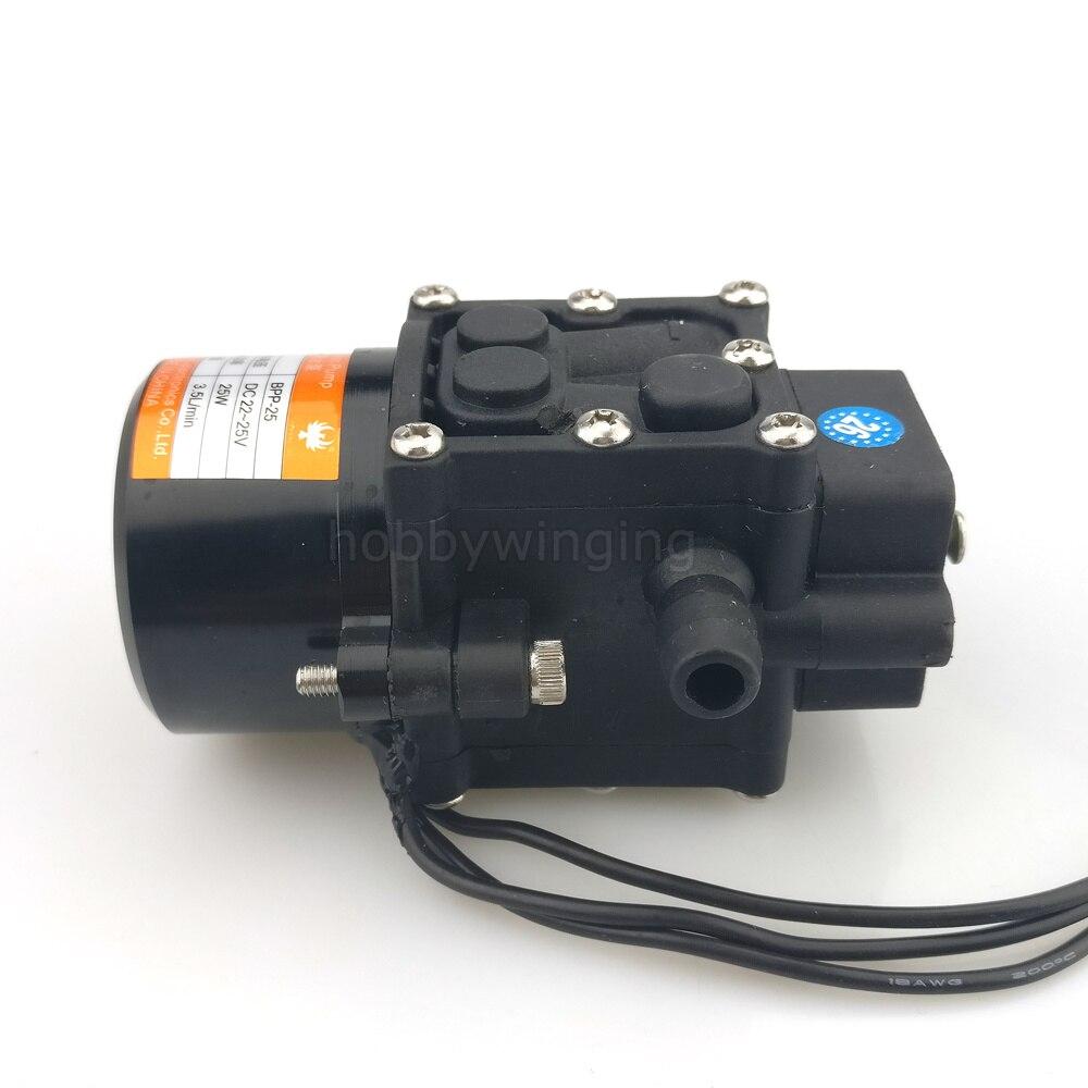 Landwirtschaft drone Mini Bürstenlosen Wasserpumpe Miniatur druck membran pumpe Mit Amass MR30 stecker 22 25 V 3.5L/ min Licht gewicht-in Teile & Zubehör aus Spielzeug und Hobbys bei  Gruppe 3