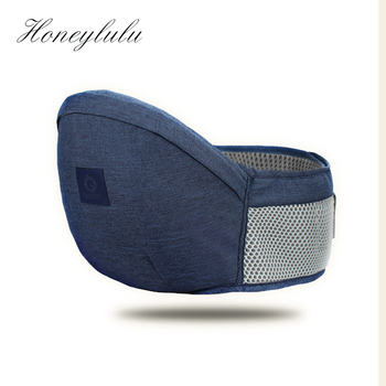 Honeylulu 3D Hollow Breathable Waist Stool Baby Carrier Seat Stool Sling For Newborns Kangaroo For Baby Hipsit Ergonomic Sling lightweight breathable baby sling waist stool backpacks carries multiple back child stool scientific design to ease the load