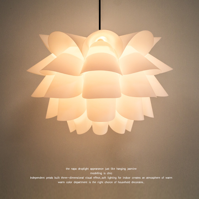Newest Five Layer Lotus Lamp Shade Easy To Clean Decoration Lamp