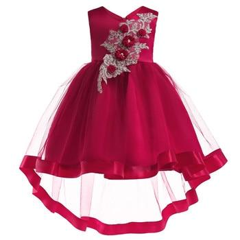 Vestido De Tutú De Verano Para Niñas Vestido De Bebé Vestido