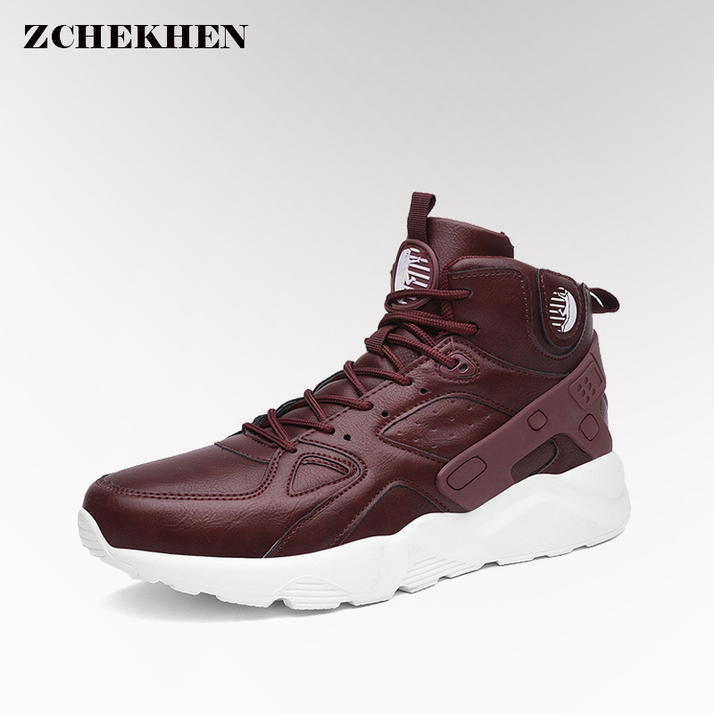 2018 Spring Autumn Men Shoes Mens Shoes Casual High Top Hip Hop Shoes lightweight Footwear Zapatillas Deportivas Hombre sneakers casual dancing sneakers hip hop shoes high top casual shoes men patent leather flat shoes zapatillas deportivas hombre 61