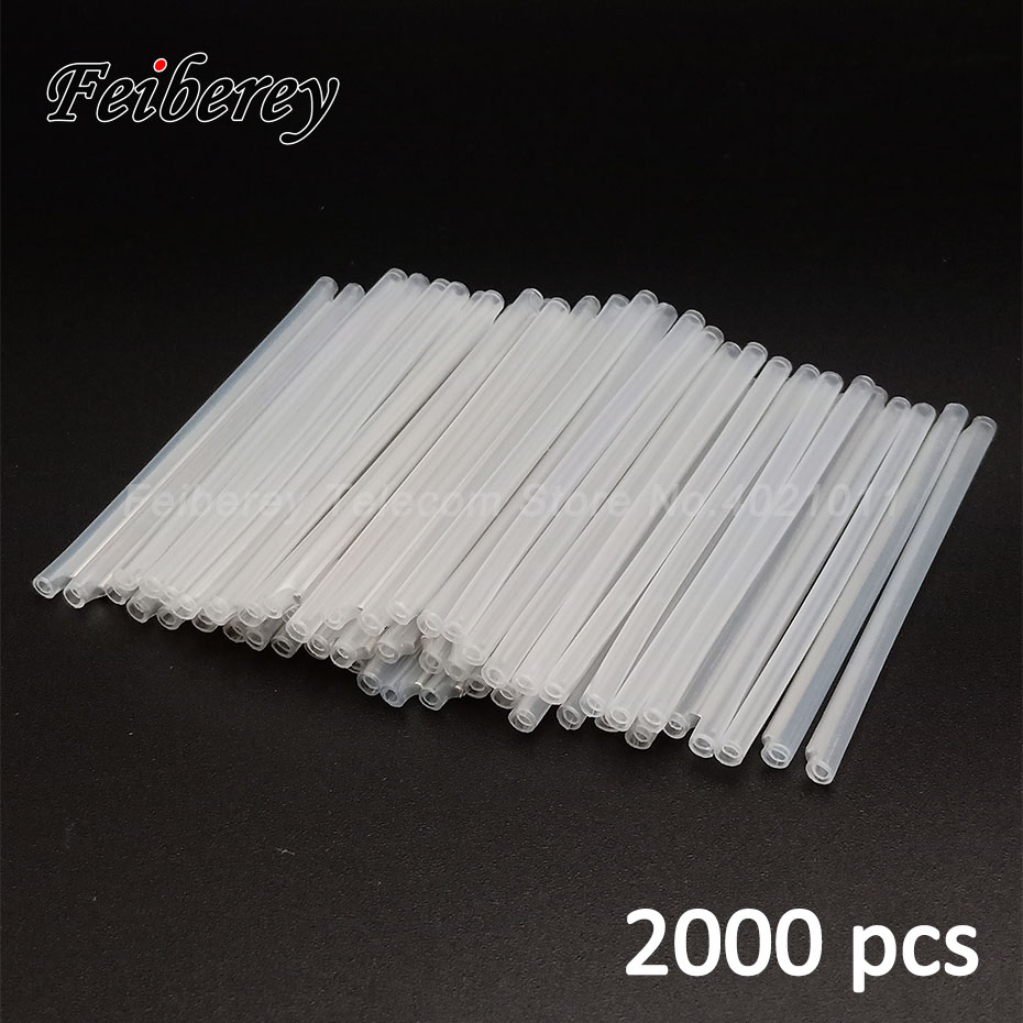 2000PCS/lot 40mm 45mm 60mm FTTH Fiber Optic Heat Shrinkable Splice Protector