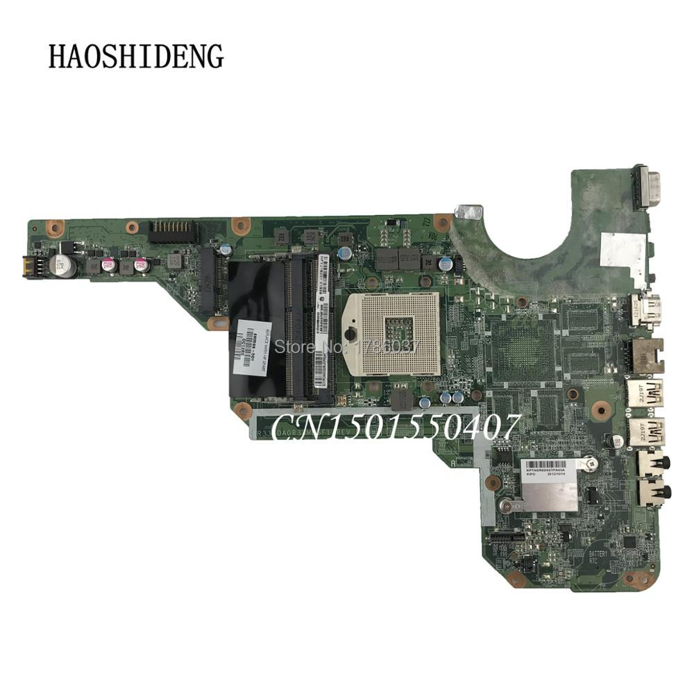 HAOSHIDENG 680568-001 680568-501 mainboard for HP Pavilion G4 G6 G7 G4-2000 G6-2000 laptop motherboard DA0R33MB6E0 DA0R33MB6F1 laptop motherboard for hp pavilion g4 g6 g7 2000 g6 2000 g4 2000 motherboard da0r33mb6e0 680568 001