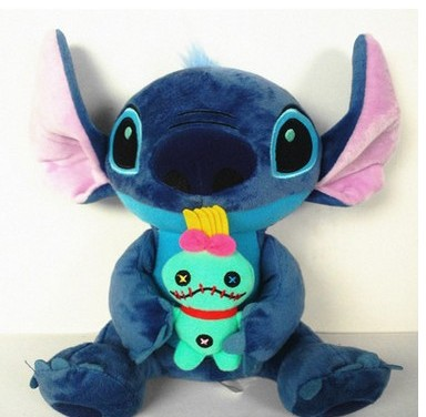 Free shipping Warm Hands Pillow Lilo and Stich Plush Toy Scrump Soft Stuffed Animal Doll Kids Toys Christmas Gift northern europe style double 3d printing ins doll plush sofa stuffed animal child toys birthday xams gift dash pillow cushion