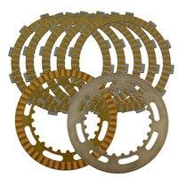 Motorcycle Clutch Friction Plates Set For SUZUKI AN650 AN 650 SKY WAVE / SKYWAVE 650