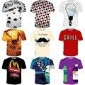 Soy un inconformista cartas camisetas Poker moda Print T camisa 3D 3D mujeres hombres Summer Casual Tops camisetas de cuello redondo camisetas