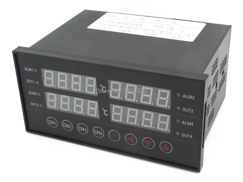 XMT JK4 160 80mm 4 ways 4 PIDs digital temperature controller