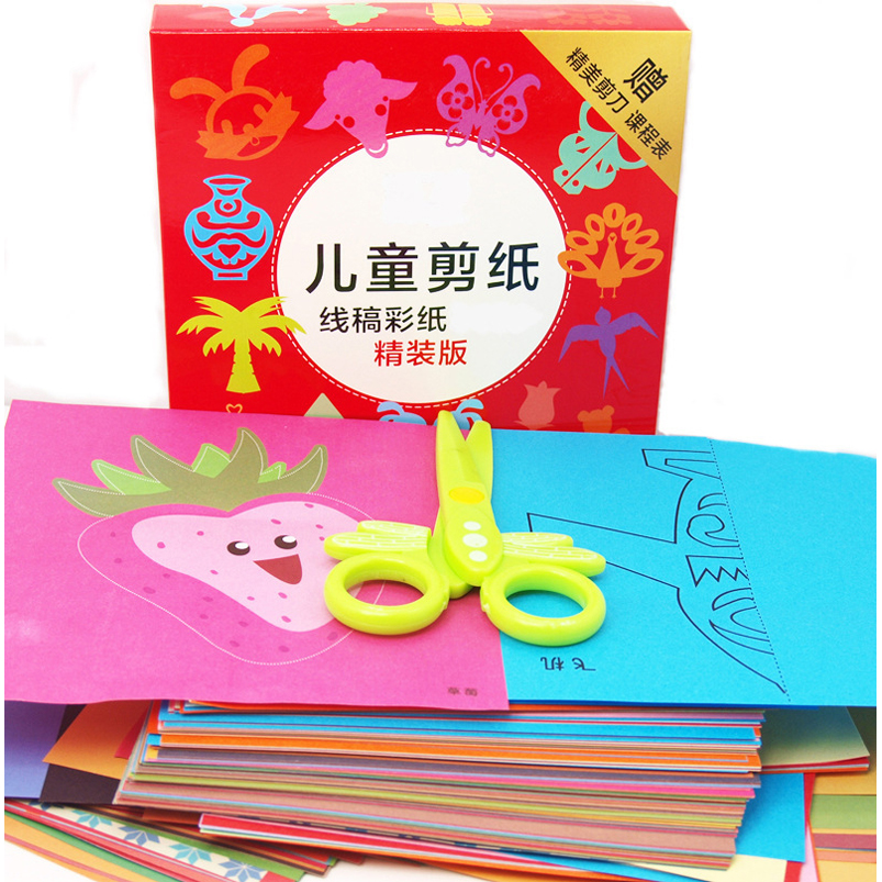 Abbyfrank 96pcs Craft Paper Kid Toy Diy Origami Paper Flower Animal Art Sticker School Student Crafts Learning Toys For Children