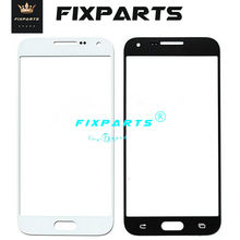 Voor Samsung Galaxy E5 E500 E500F E500M Voor Glas Lens Touch Panel Cover Vervanging Voor Samsung Alpha G850 Front Screen lens(China)