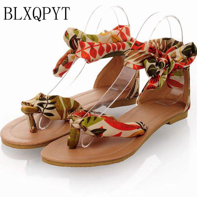 2017 Sandalias Mujer Zapatos moda tenis feminino más tamaño Mujer Sandalias sapato verano estilo chaussure Femme Bl-326-4