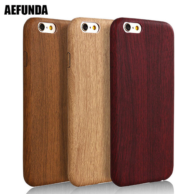 Ultra Slim Wood Bamboo TPU Leather Skin Phone Case For iPhone X 7 8 6 6S  Plus 10 5 S 5s SE Retro Wooden Grain Back Cover Capa 6d3f7e6a8c