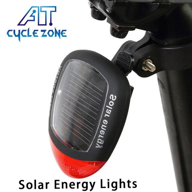 Fietsen Zonne energie Power Lamp MTB Mountainbike Achter Achterlicht ...