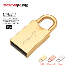 Maxchange USB Flash Drive 32GB Pen Drive Mini USB 2.0 Storage Flash Memory Pendrive U Disk USB Stick