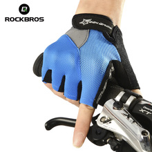 Rockbros A Half Means Gloves Anti Skidding Wear Resisting Bike Bicycle Cycling Short Finger Sports Tactical