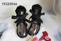 2016 Australia Wholesale/retail High quality Women's Classic Snow Boots real Sheepskin medium style winter boots womens