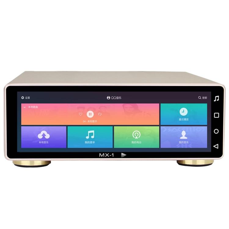R-027 MX-Pro/MX-1A Android SD TF Carte HDD Disque Dur HD SSD Réseau Audio Musique Platine Numérique lecteur 8 ''Moniteur DSD 512