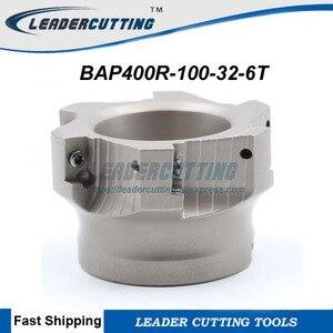 Image 1 - Freie Shiping BAP400R 100 32 6T fräswerkzeug Für APMT1604PDER, DIa 100mm Planfräser Schulter Cutter Für Fräsmaschine