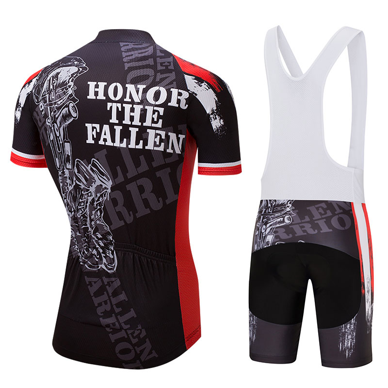 Crossrider Summer Honor the Fallen Cycling Clothing USA Men s Cycling  Jerseys MTB Short bib Sets Ropa Ciclismo Bike Wear Clothes-in Cycling Sets  from Sports ... c06bf2177
