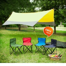 Outdoor leisure folding chairs camping portable armchairs fishing chair picnic barbecue sketching chairs train stool wholesale