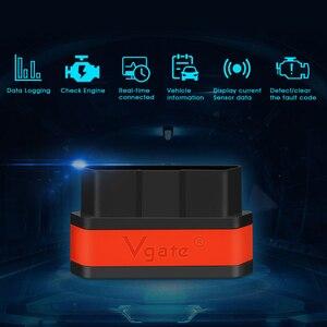 Image 2 - Vgate obd2 ELM327 icar2 strumento diagnostico WIFI Mini Car Scanner elm 327 V2.1 WIFI adattatore automatico per IOS/android OBD 2 lettore di codice