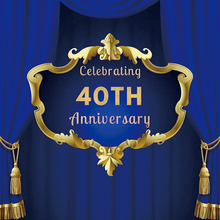 Yeele 40th Birthday Party Surprises Communion Decoration Wall Personalized Backdrops Photography Backgrounds For Photo Studio