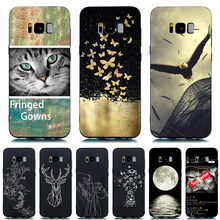 New fashion DIY printed Phone Case For Samsung Galaxy S8 S8 Plus S9 S9P S10 S10E S10 Plus Case For Samsung Galaxy back cover(China)