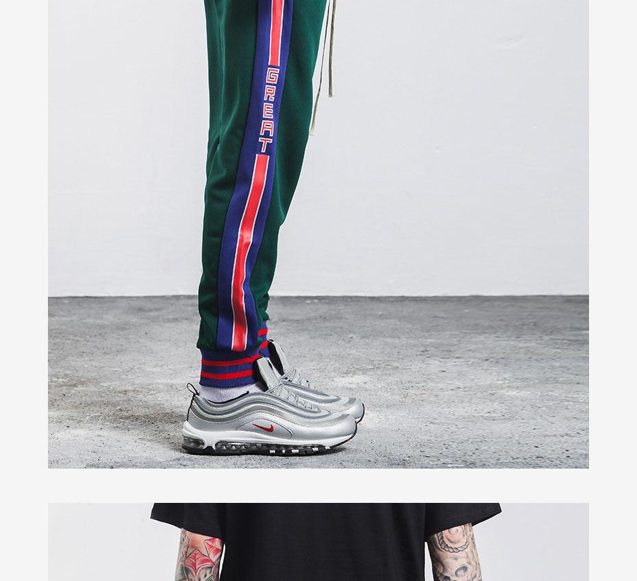 TRIASIADEE Mens Jogger Pants Casual Hip Hop Tracksuit Pants Broeken Man