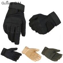 Us-armee Taktische Handschuhe Outdoor Sports vollfingerhandschuhe Kampf Handschuh Motorrad rutschfeste Carbon Handschuhe Großhandel