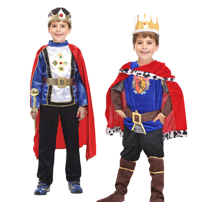new Children Halloween kids Prince Costume The King Costumes Childrenu0027s Day Boys Fantasia European royalty Cosplay clothing cool-in Boys Costumes from ...  sc 1 st  AliExpress.com & new Children Halloween kids Prince Costume The King Costumes ...