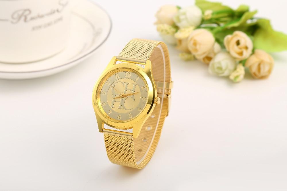 Merk vrouw Horloge montres Mode Quartz Horloge Nieuw binnen Casual - Dameshorloges - Foto 3