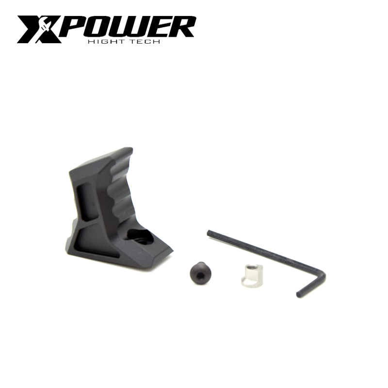 XPOWER VP-24 Hybrid Keymod   M-Lock Tactical Hand Stop Handstop Grip CNC Aluminium Alloy For Airsoft Paintball AEG