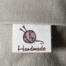 200 handmade labels stock/clothing printed cotton ribbon/clothing customized labels/tags/garment tag/Retro label