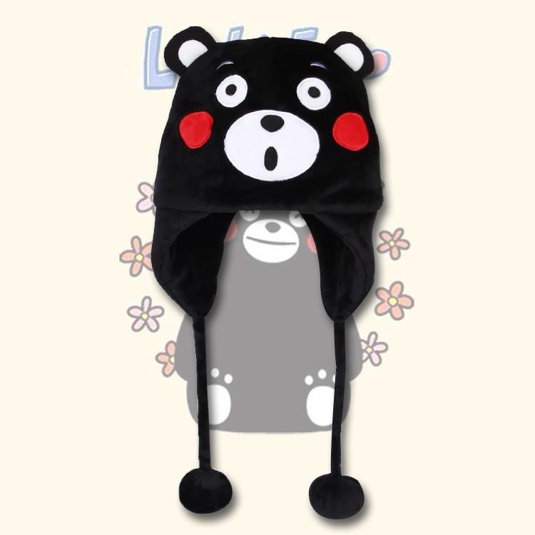 Kumamoto anime peluche chapeau autour la captive saumon poisson-chat cour Natsume cosplay costume adorable automne et d'hiver chaud