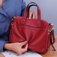 Лисохвост и лилии из натуральной кожи сумка для Для женщин Роскошные Брендовая Дизайнерская обувь из натуральной кожи Сумки дамы Повседнев