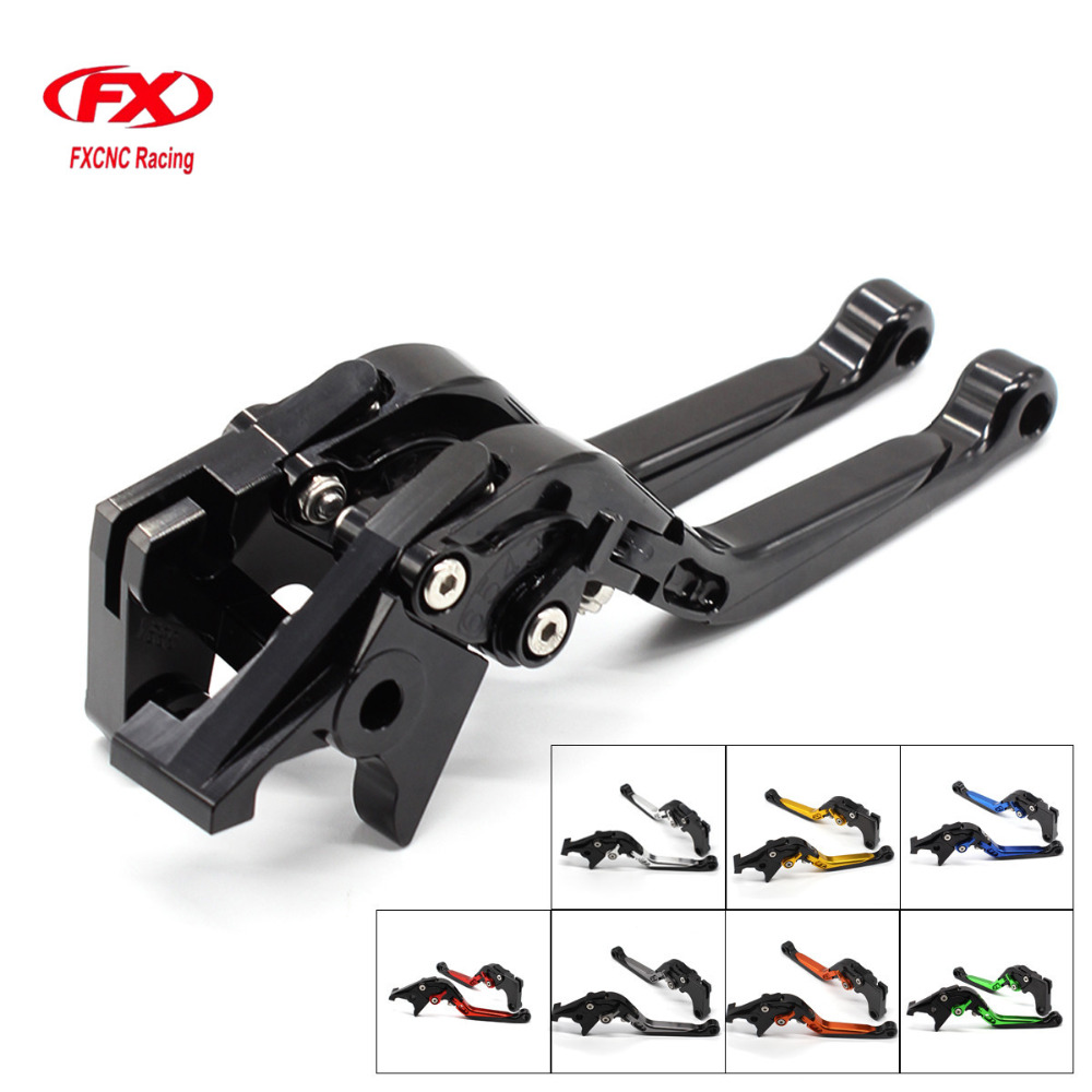 CNC Adjustable Motorcycles Brake Clutch Levers Folding Extendable Lever For KTM Super Adventure 1290 S T R 2015 - 2018 2015 2016 for yamaha nmax 155 nmax155 all yreas cnc motorcycle adjustable folding extendable 170mm lever hot clutch brake levers 2 styles