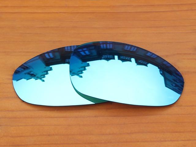 Gelo Azul Espelho óculos Polarizados Lentes de Reposição Para O Juliet Sunglasses Quadro 100% UVA & Uvb