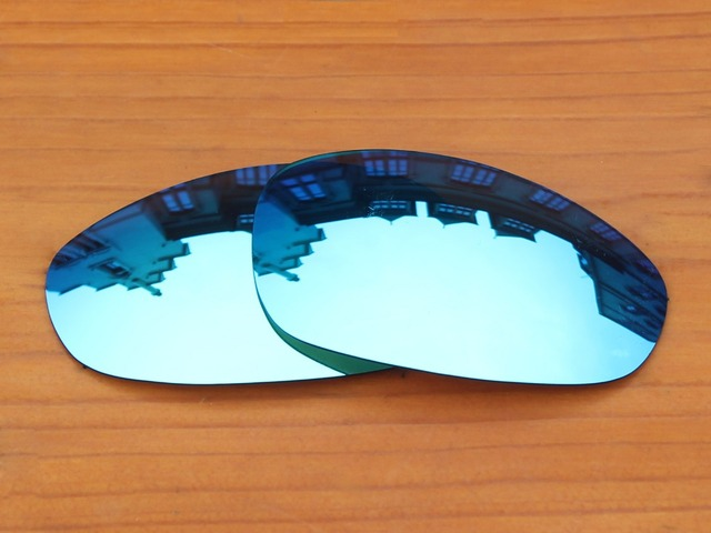 Ice Blue Mirror Polarized Replacement Lenses For Juliet Sunglasses Frame 100% UVA & UVB Protection