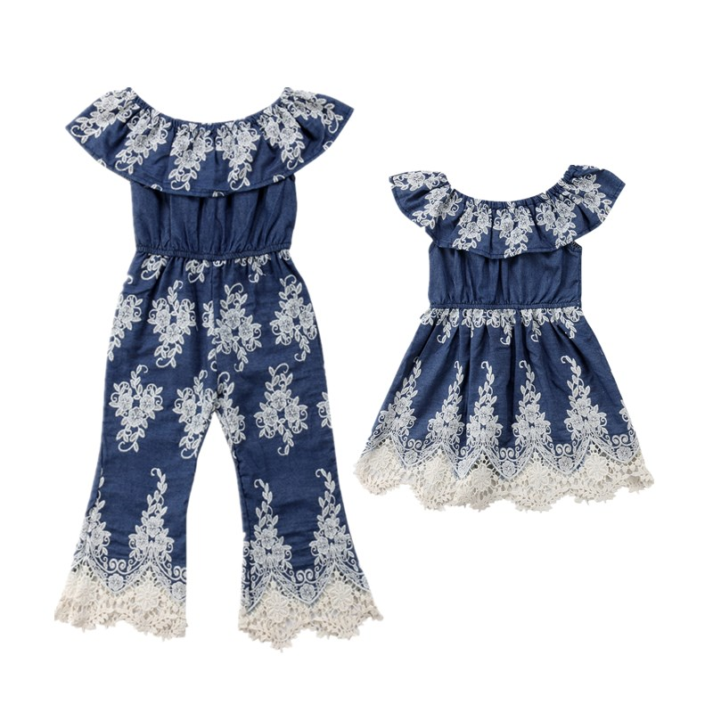 Sisters Kids Baby Girls Embroidered Lace Dress Overalls Jumpsuit Baby Girl Toddler Crochet Princess Party Tutu Dress ClothesSisters Kids Baby Girls Embroidered Lace Dress Overalls Jumpsuit Baby Girl Toddler Crochet Princess Party Tutu Dress Clothes