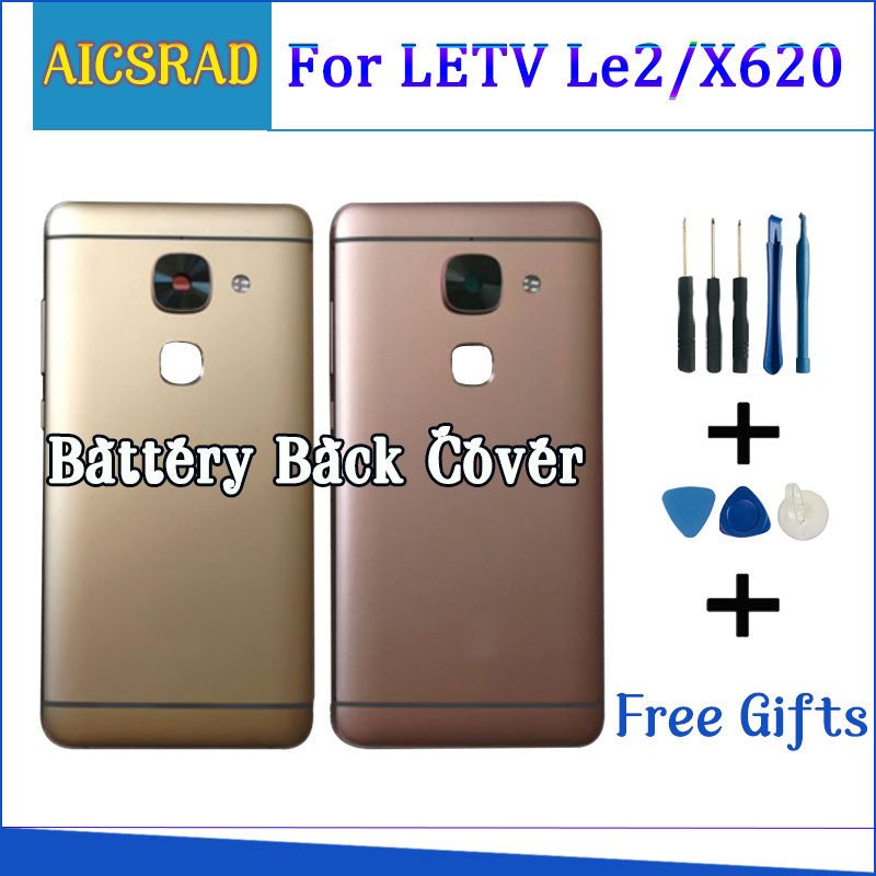 For Letv LeEco Le2 Le 2 X527 X520 X522 X621 X620 X622 X528 Back Battery Cover Door Housing Case Rear Glass Parts