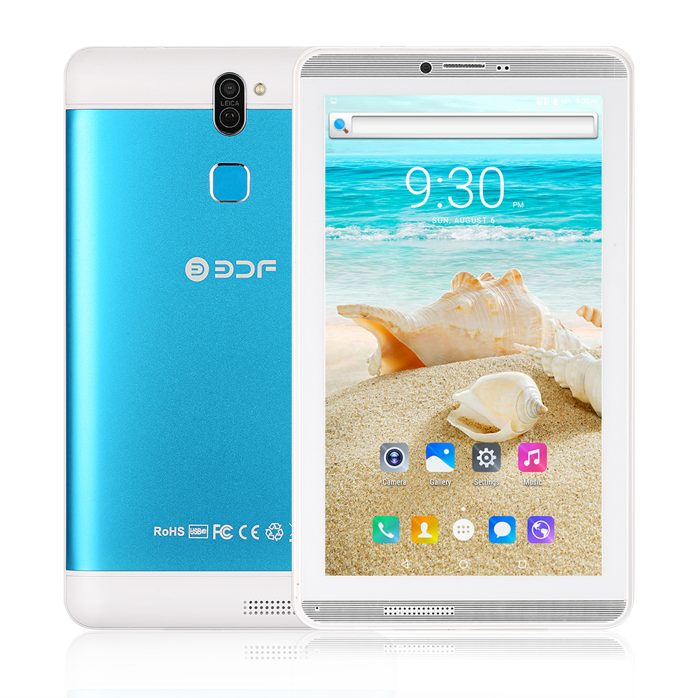 Mosccow Ship 7Inch Android6.0 Q706 Original Phone Tablet   8GB ROM Quad Core Built-in 3G External 3G 1024*600 LCD Tablet
