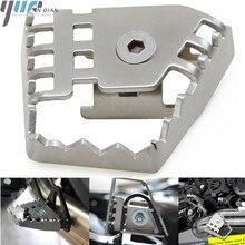 Для BMW F800GS R 1150/1200 GS R1200GS ADV/R1200GS LC мотоцикл задний ножной тормозной рычаг Peda увеличить расширение Серебряный