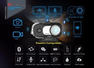 Image 2 - 2 sztuk MORNYSTAR M1Pro 800m 4 zawodników grupa domofon MP3 HD 1080P wideorejestrator kamera interkom motocyklowy na bluetooth kask z zestawem słuchawkowym