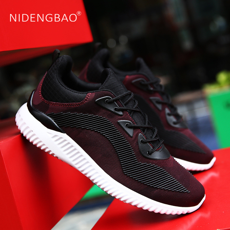 NIDENGBAO Male Sports Shoes Run Gym Trail Running Shoes Men Boost Breathable Sneakers for Men Solomons Man Tennis Outdoor
